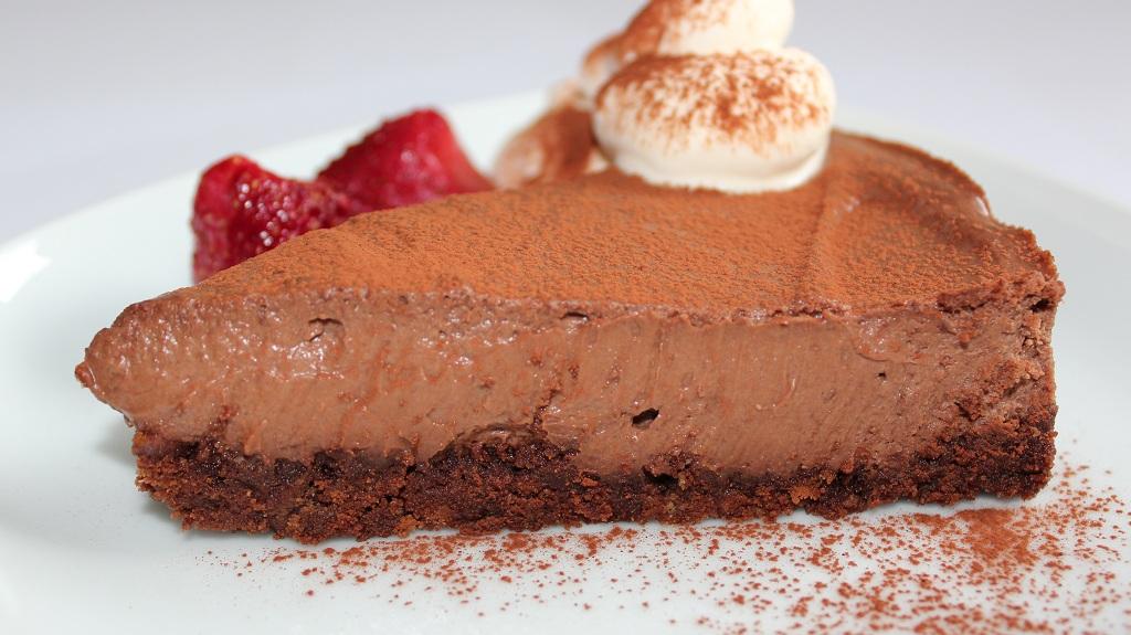 choklad cheesecake med philadelphiaost